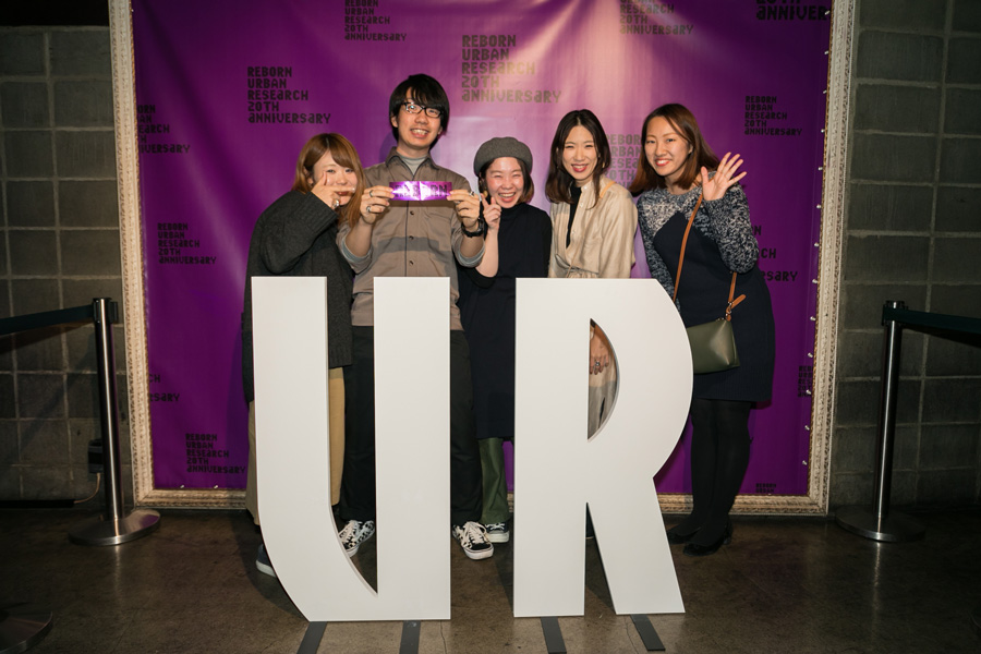 URBAN RESEARCH 20TH ANNIVERSARY PARTY SNAP No.01