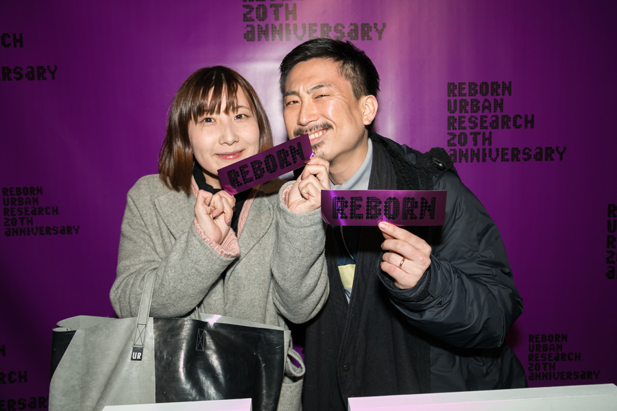 URBAN RESEARCH 20TH ANNIVERSARY PARTY SNAP No.02