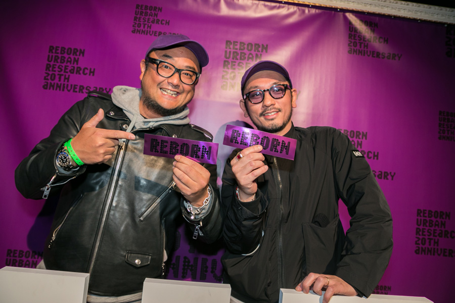 URBAN RESEARCH 20TH ANNIVERSARY PARTY SNAP No.03
