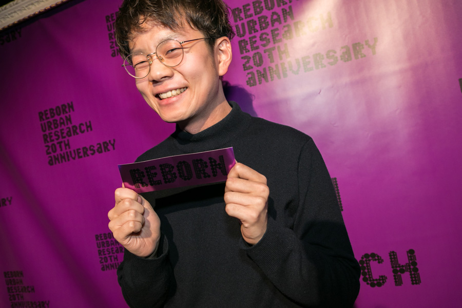 URBAN RESEARCH 20TH ANNIVERSARY PARTY SNAP No.04
