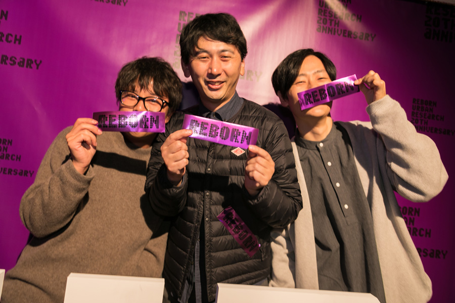 URBAN RESEARCH 20TH ANNIVERSARY PARTY SNAP No.05