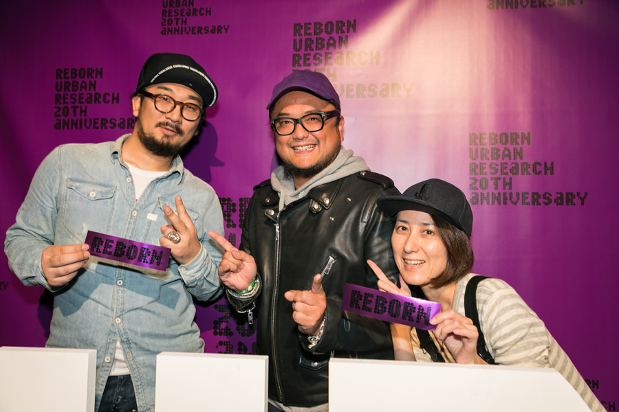 URBAN RESEARCH 20TH ANNIVERSARY PARTY SNAP No.07