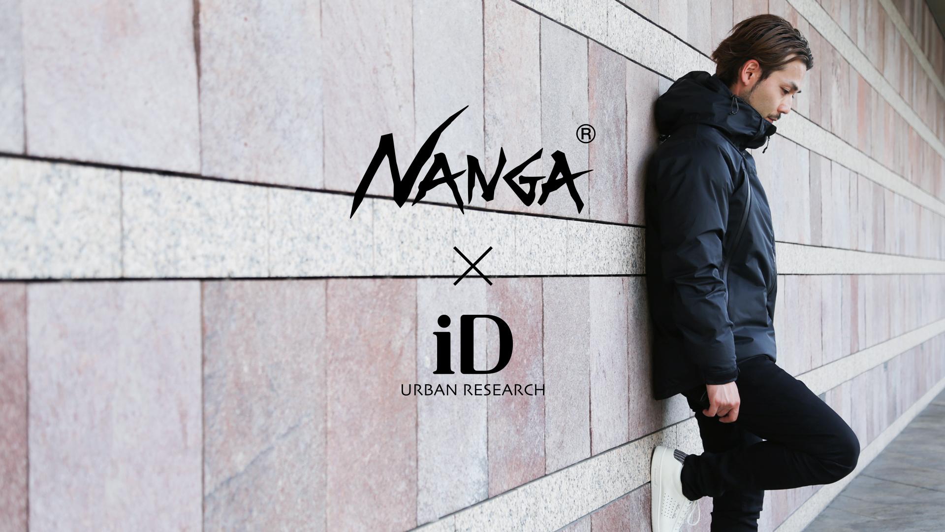NANGA×iD 2016AW