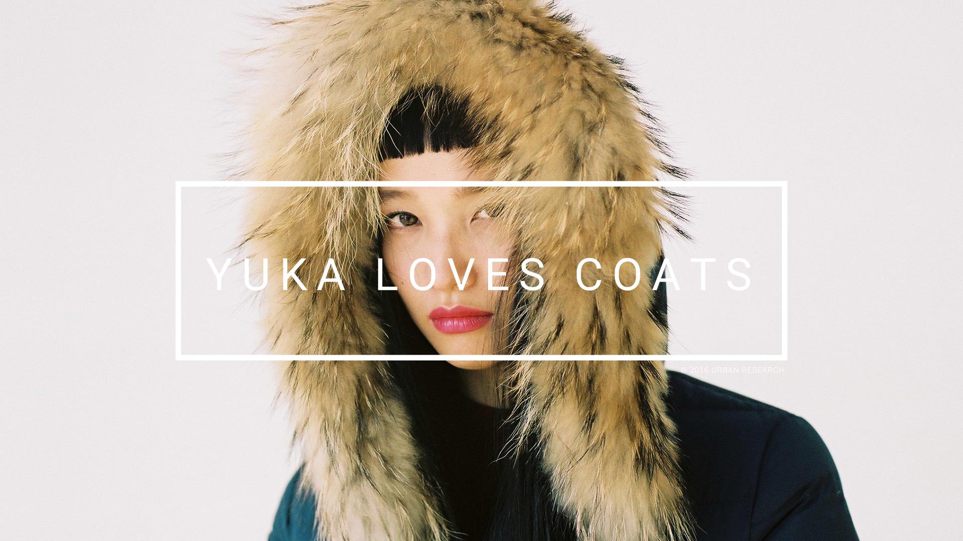 YUKA LOVES COATS