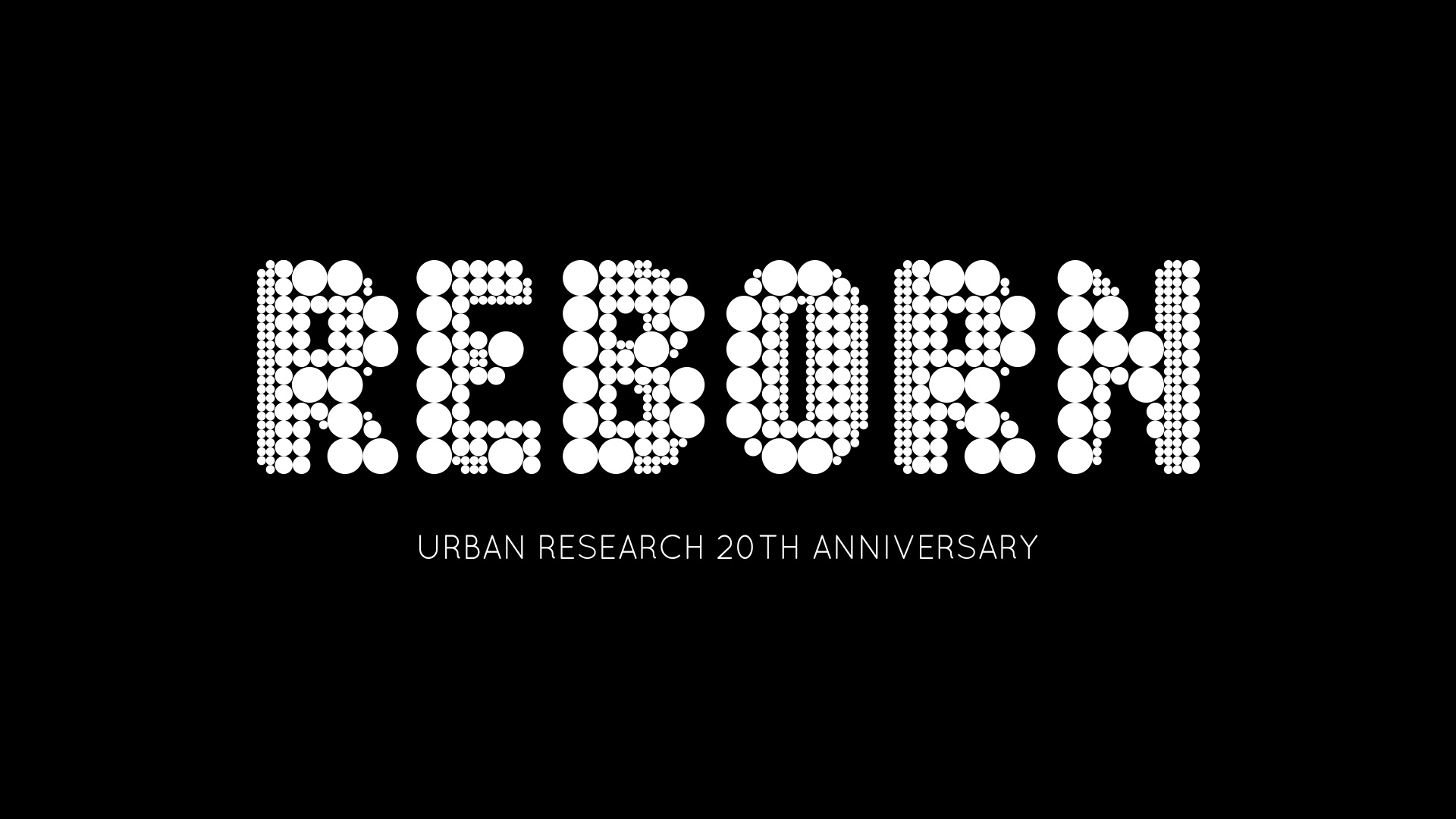 URBAN RESEARCH 20th ANNIVERSARY REBORN