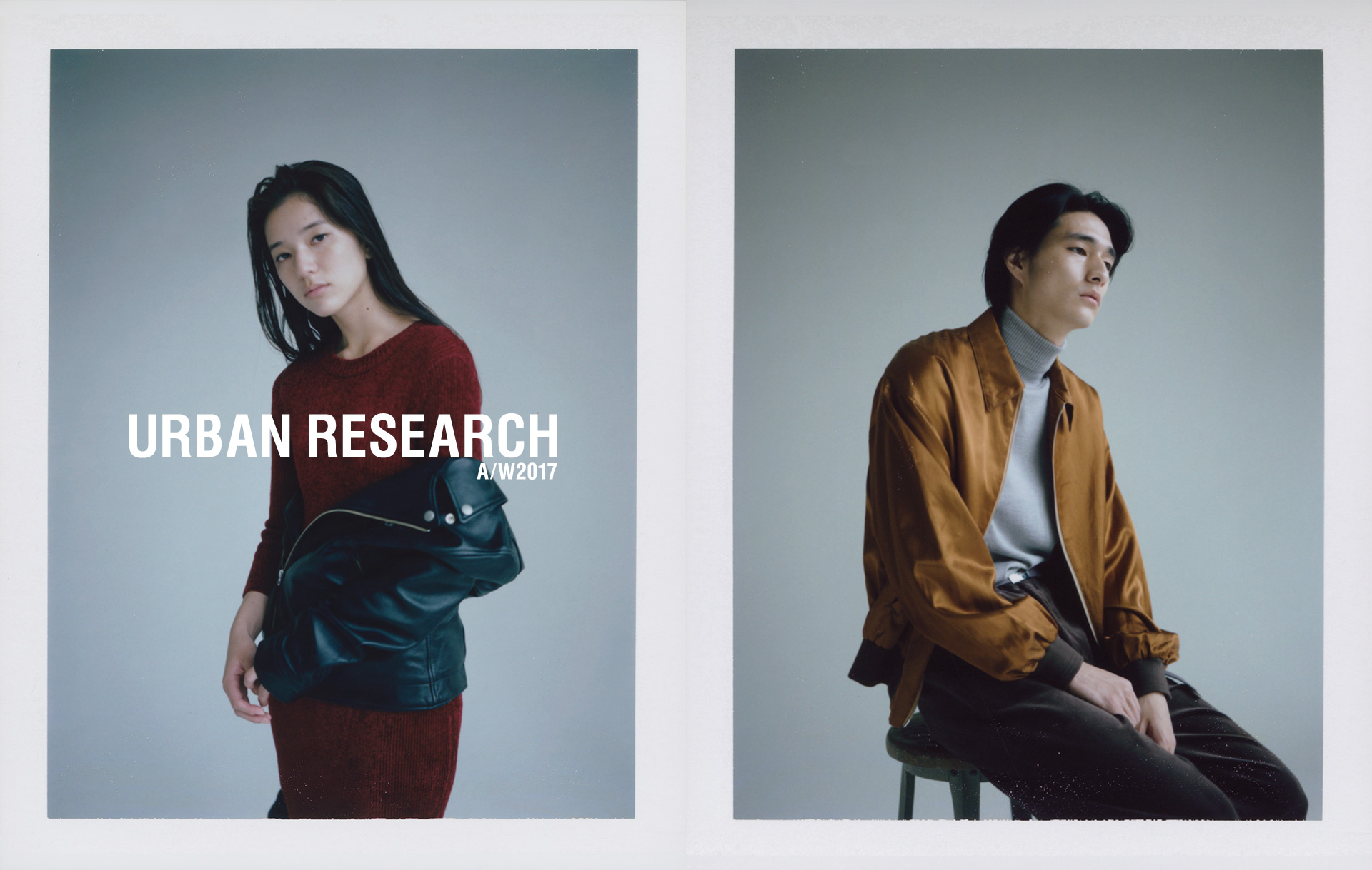 URBAN RESEARCH 2017 AUTUMN WINTER