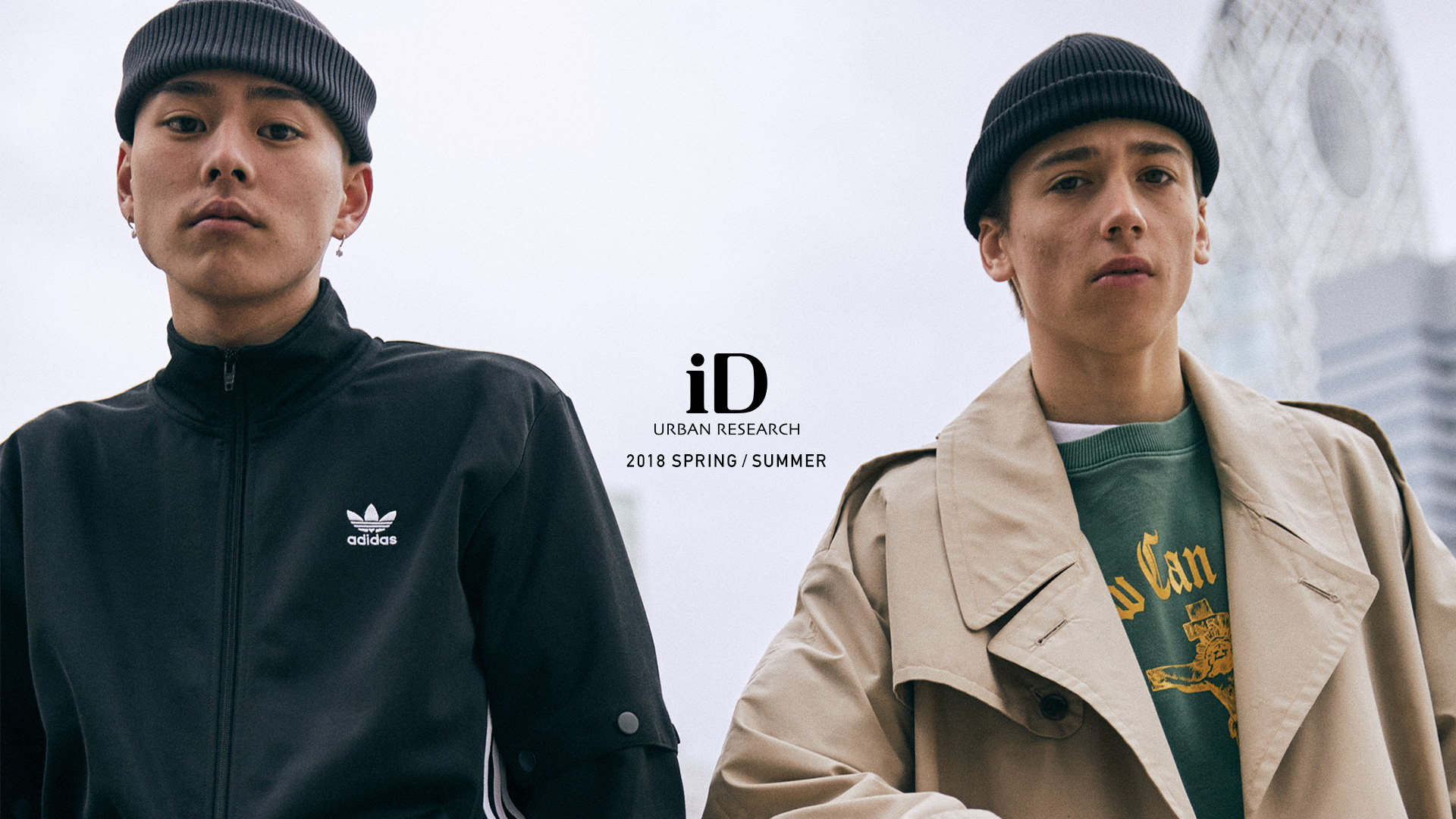 URBAN RESEARCH iD 2018 SPRING / SUMMER