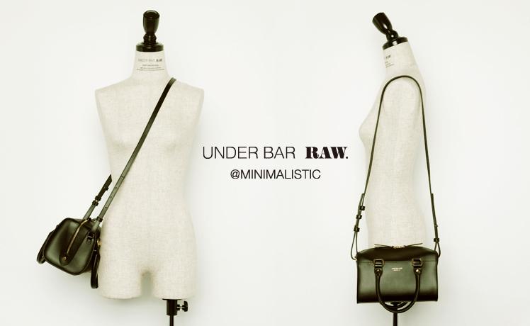 UNDER BAR RAW. @MINIMALISTIC vol.2