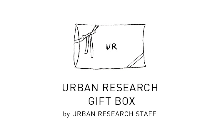 URBAN RESEARCH GIFT BOX by URBAN RESEARCH STAFF