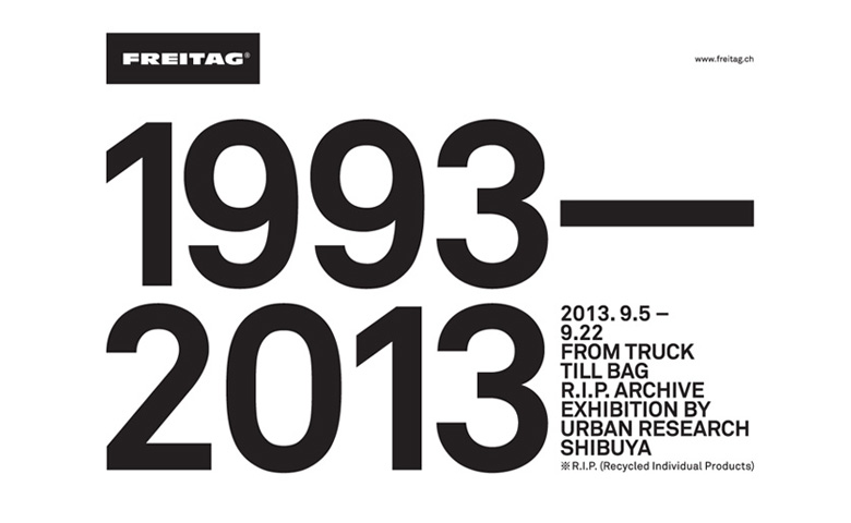 2013. 9.5 – 9.22 R.I.P. ARCHIVE EXHIBITION BY URBAN RESEARCH SHIBUYA
