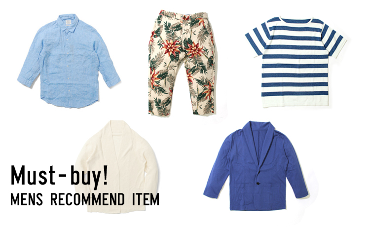 Must-buy!MENS RECOMMEND ITEM