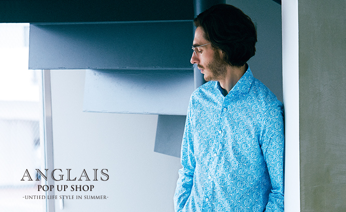 ANGLAIS POP UP SHOP開催