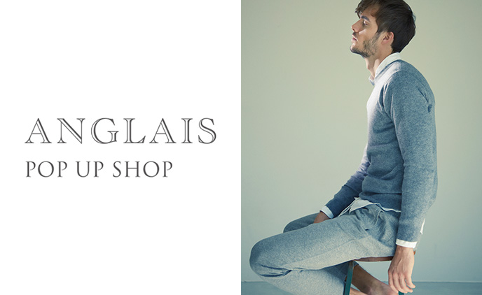 ANGLAIS POP UP SHOP