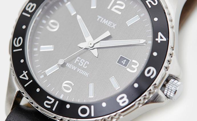TIMEXのFREEMANS SPORTING CLUBのコラボレーションモデルを発売