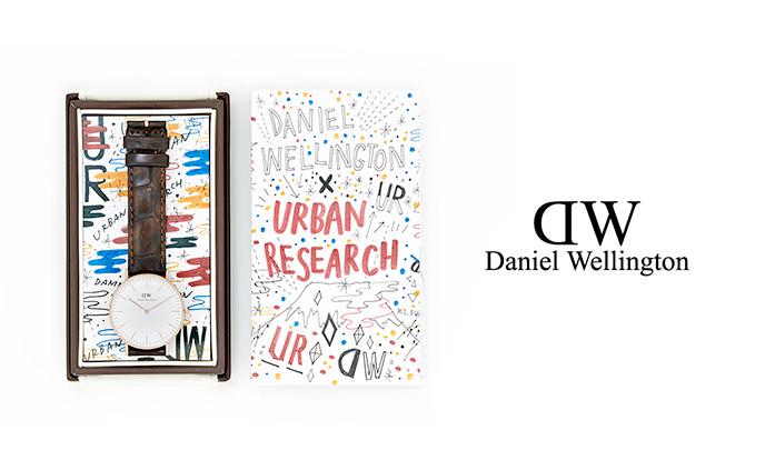 Daniel Wellington × 関根正悟 × URBAN RESEARCH<br /> SPECIAL PACKAGE 発売