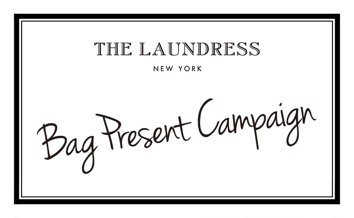 THE LAUNDRESS Bag Present Campaign