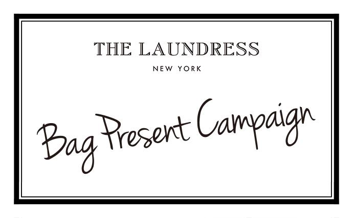 THE LAUNDRESS Bag Present Campaign