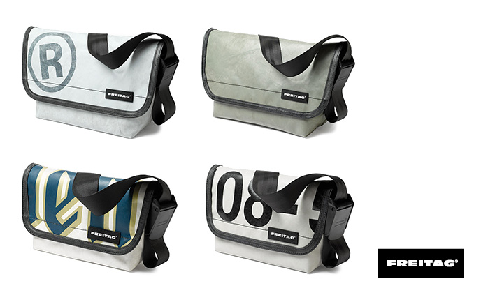 messenger bag collection by FREITAG