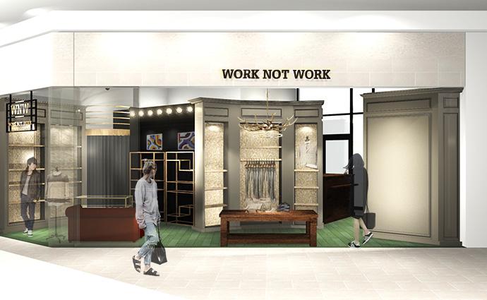2015年9月11日(金) WORK NOT WORK URBAN RESEARCH 静岡店 NEW OPEN