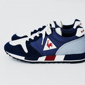 le coq sportif <OMEGA ORIGINAL> in 1986 (30th Anniversary)