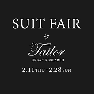SUIT FAIR by URBAN RESEARCH Tailor