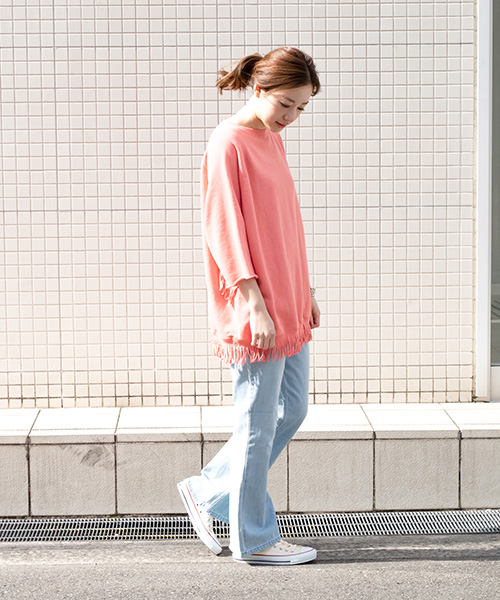 YOUNG & OLSEN The DRYGOODS STORE 着用