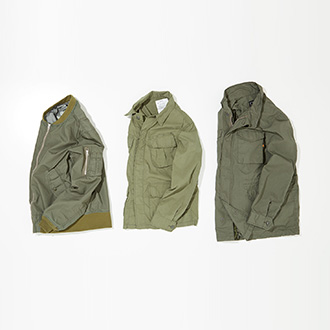 "SPRING OUTER WEAR ""MILITARY"""