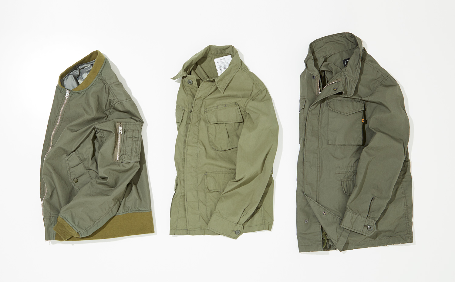 """SPRING OUTER WEAR """"MILITARY"""""""