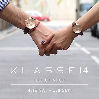 イタリア発ウォッチブランド「Klasse 14」の POP UP SHOPを開催