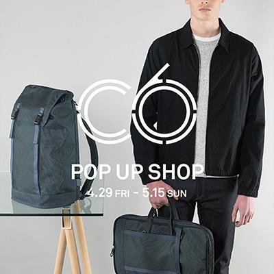 C6 POP UP SHOP開催のお知らせ