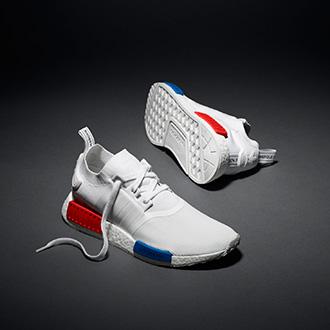 【5月28日(土) 発売】adidas Originals のDNAとBOOSTフォームの最先端テクノロジーが融合 <br>プライムニットアッパーの「NMD」ニューカラーが登場