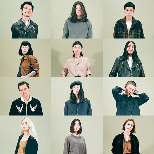 "COSEI / ZUBON <br>2016 Autumn&Winter ""genderless"""