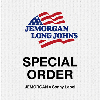 JEMORGAN×Sonny LabelスペシャルオーダーロングTシャツ