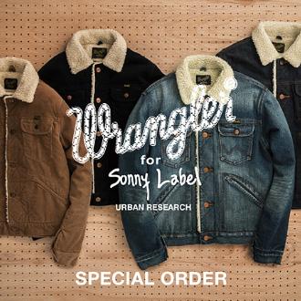 Wrangler×Sonny Label Special Order