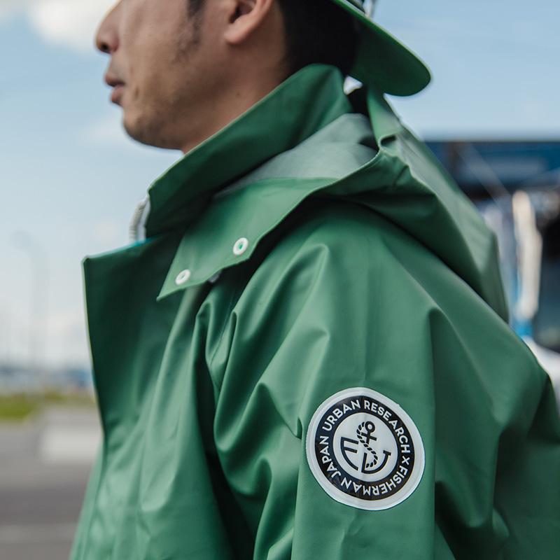 URBAN RESEARCH JAPAN MADE × FISHERMAN JAPAN <br>業界初プロユース漁師ウェアを販売開始!