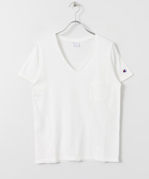 別注VネックTシャツ