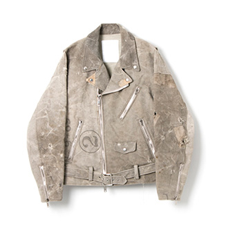 "世界先行発売 ""READYMADE"" MOTERCYCLE JACKET"