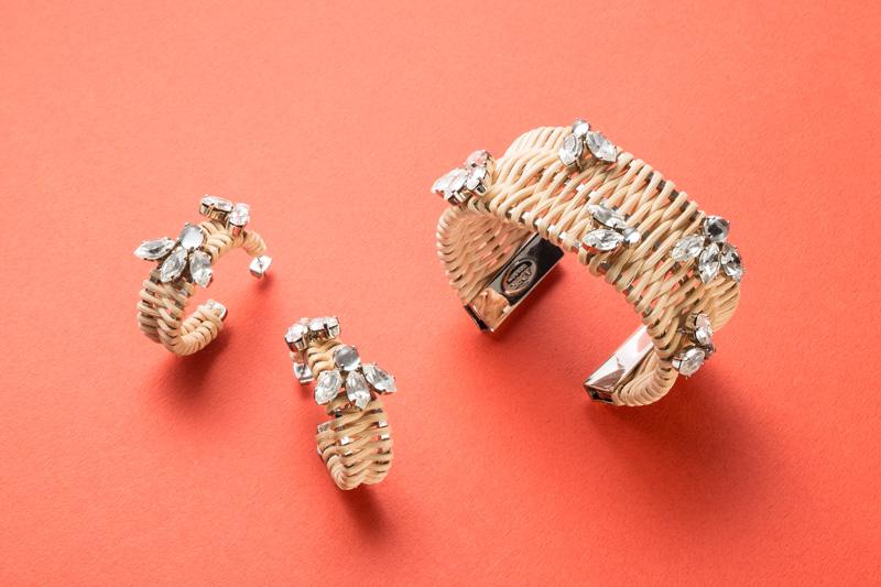 ADER.bijoux rattan collection
