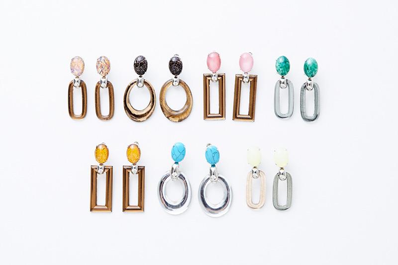 ADER.bijoux vintage earrings