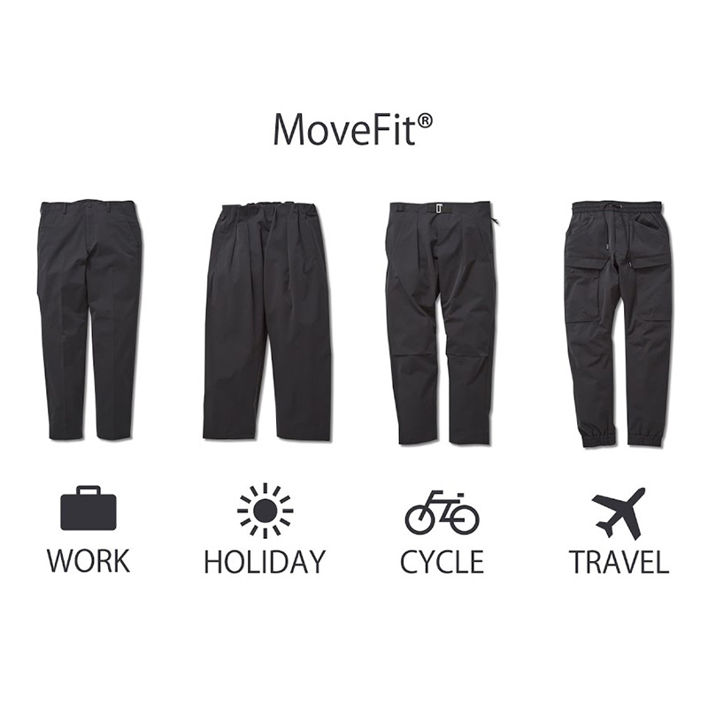 Functional Wear for Men:「MoveFit®」
