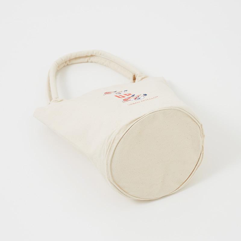 カープ坊やバケツ型キャンバスバッグ