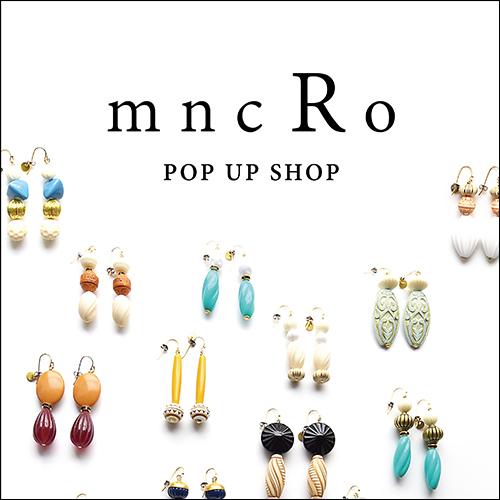 mncRo POP UP SHOP