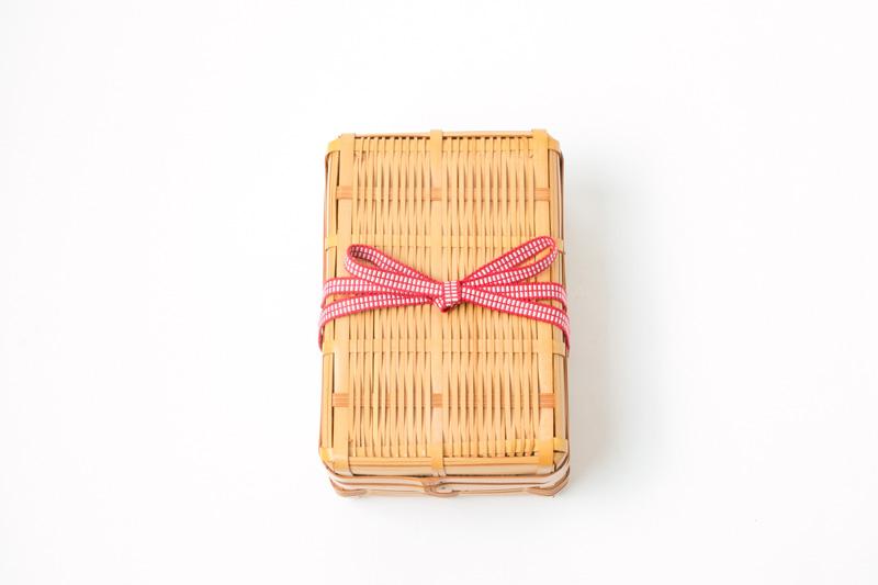 竹のランチボックス