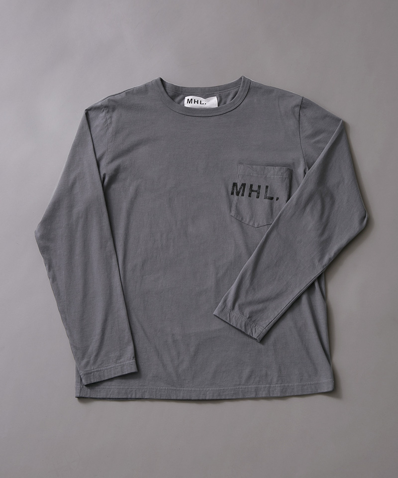 MHL.×URBAN RESEARCH 別注LOGO LONG-SLEEVE T-SHIRTS