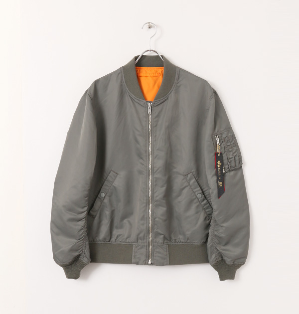 ALPHA INDUSTRIES × URBAN RESEARCH iD 別注LOOSE FIT MA-1