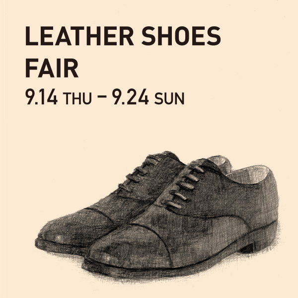 LEATHER SHOES FAIR 開催
