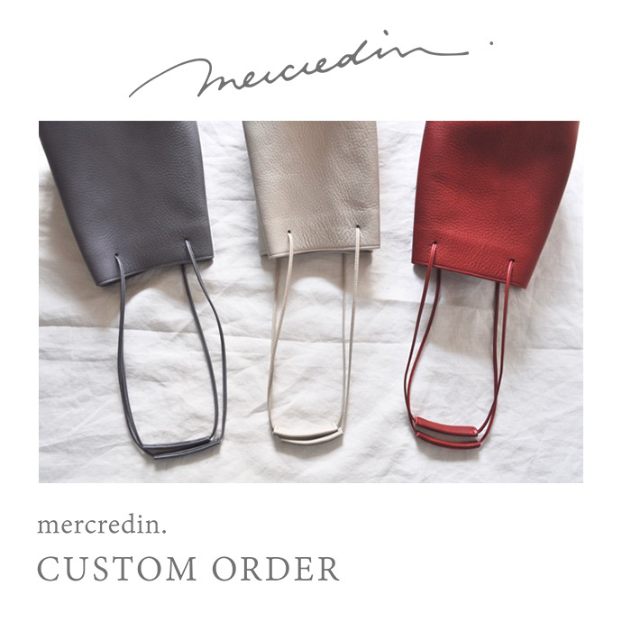 『mercredin. CUSTOM ORDER』開催