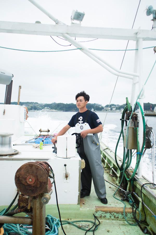 おしゃれな本格派の漁師ウェア