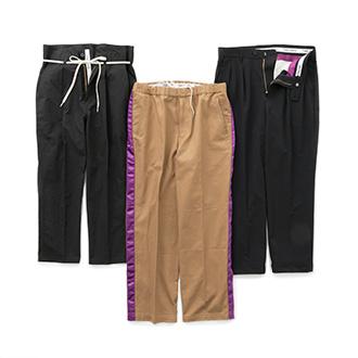 【10月6日(金)発売】<br>生地から生産まで日本国内で行うパンツ専門ブランドをスタート