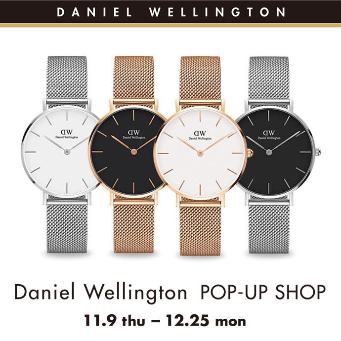 Daniel Wellington POP-UP SHOP